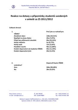 PDF soubor - stáhnout - Vysoká škola manažerské informatiky a