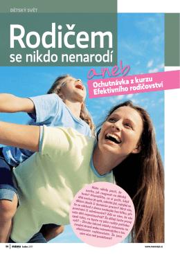 Efektivního rodičovství