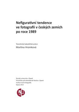 Nefigurativní tendence ve fotografii v českých zemích