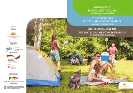smernice za razvoj ekoturizma guidelines for ecotourism