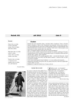Okénko do farnosti 9/2012 (formát pdf) - Farnost Letohrad