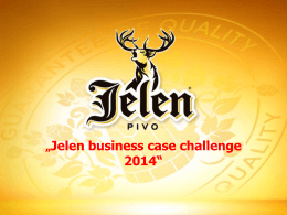 """Jelen business case challenge 2014"""