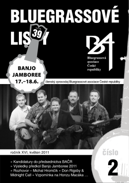 Bluegrassové listy 02/2011