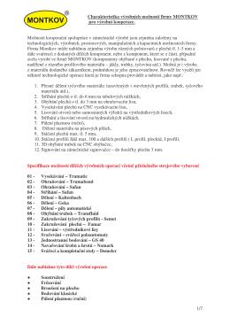 (Nabídka technologií pro výrobní kooperace 2012)