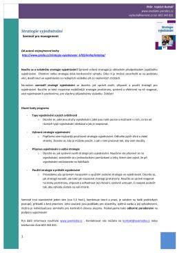 obsah v PDF - PhDr. Vojtěch Bednář