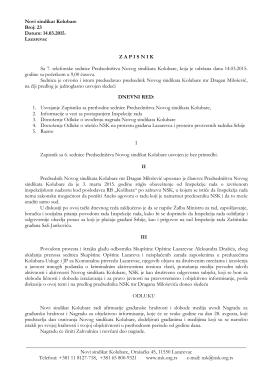 OVDE - Novi sindikat Kolubare