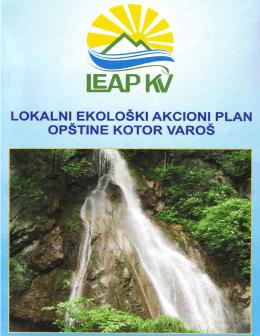 lokalni ekološki akcioni plan opštine kotor varoš - Котор