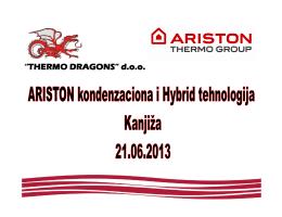 Ariston kondenzaciona i Hybrid tehnologija Kanjiža 21.06.2013