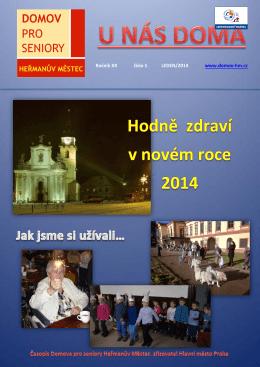 U nás doma 2014/01 - Domov pro seniory Heřmanův Městec