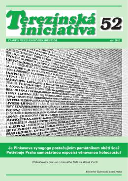 září 2010 - Institut Terezínské iniciativy
