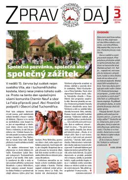 Tuchoměřický zpravodaj – č.3 červenec 2014