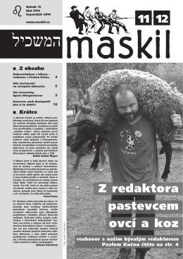 č.11 - Maskil