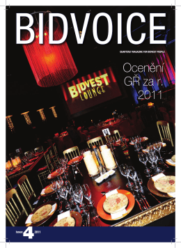 Bidvoice issue 4 _ Czech.indd