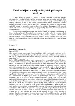 Vztah zahájení a z něj vznikajících pěšcových struktur (ve formátu pdf)