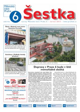 Doprava v Praze 6 bude v létě mimořádně složitá