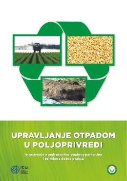 Upravljanje otpadom u poljoprivredi (VERSIONE