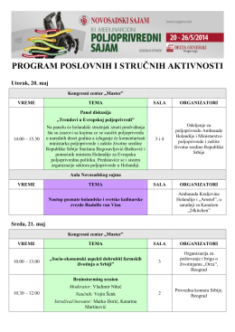 Program sajma