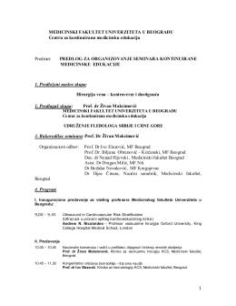 KME 2011 - Udruženje flebologa Srbije
