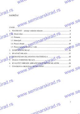 4706-Masinstvo-Secenje vodenim mlazom (124,04