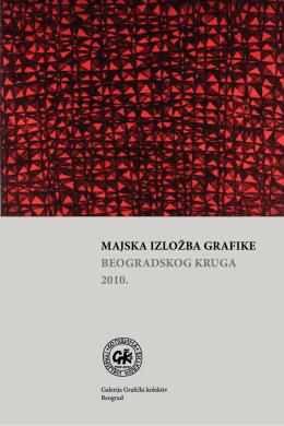 Majska izložba grafike beogradskog kruga 2010.
