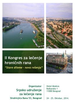 finalni program kongresa - Srpsko udruženje za lečenje rana