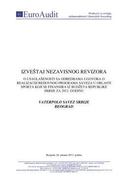 Izvestaj nezavisnog revizora Vaterpolo Savez Srbije 2012.pdf