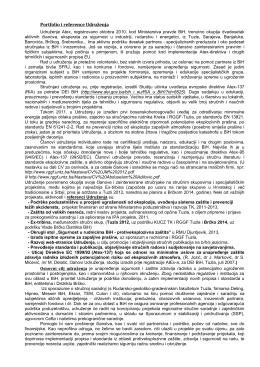 Portfolio i reference Udruženja