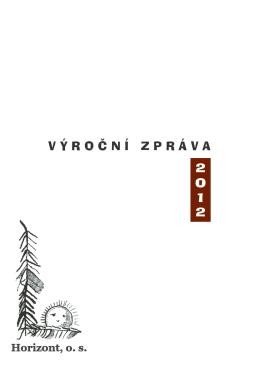 2012 (PDF-4Mb) - HORIZONT, o. s.