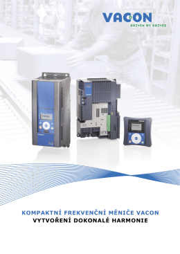 VACON Compact AC drives