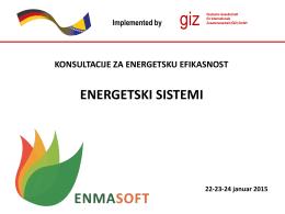 Prezentacija 2b – Potrošnja energije za grijanje i PTV, Emisije CO2