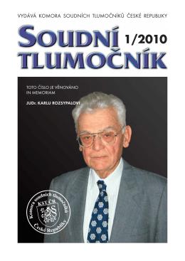 1/2010 - KST ČR