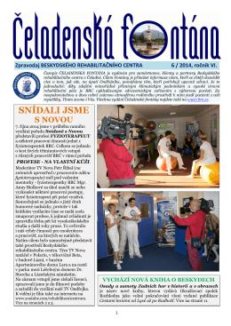 SNÍDALI JSME - Beskydské rehabilitační centrum