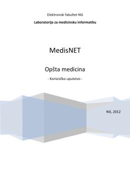Uputstvo Medis.net za lekare opšta medicina