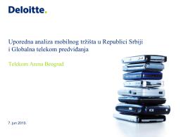 Uporedna analiza mobilnog tržišta u Republici Srbiji i