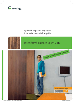 Interiérová kolekce 2009–2012
