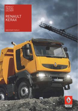 Prezentace stavební řady Renault KERAX
