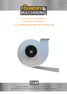 ventilátory ve heko 100 ve heko 600 info cz verze