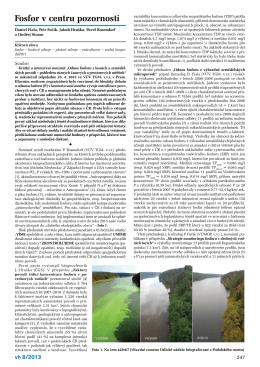 Fosfor v centru pozornosti (pdf)