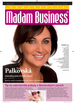 Leden - Prosperita Madam Business
