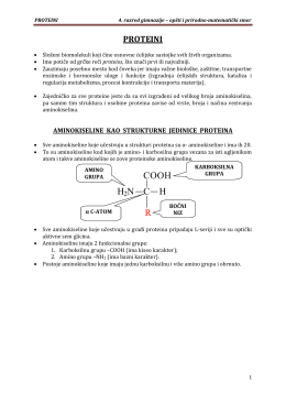 proteini - Zrenjaninska gimnazija