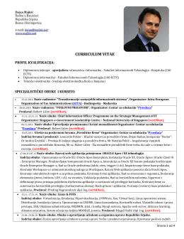 Preuzmi CV u PDF-u