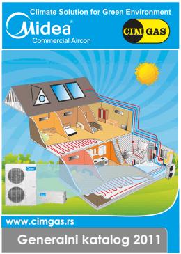 Kanalski ventilator konvektori /dvocevni sistem