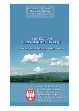 Master plan turisticke destinacije Stig-Kučajske planine