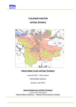Prostorna osnova - Općina Živinice