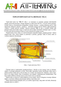toplovodni kotao na biomasu tig-s