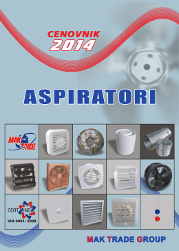 Aspiratori - mak trade group