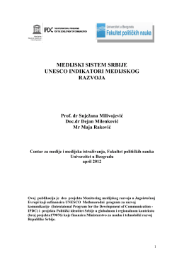 MDI SERBIA april 2012.pdf - Centar za medije
