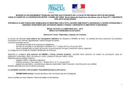 Liste-bourse-204-2015-ENSBA de Paris