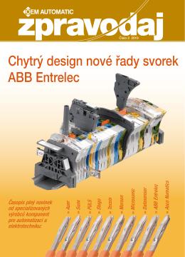 Chytrý design nové řady svorek ABB Entrelec