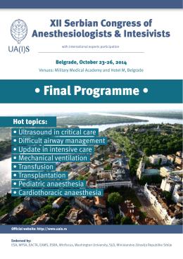 • Final Programme •